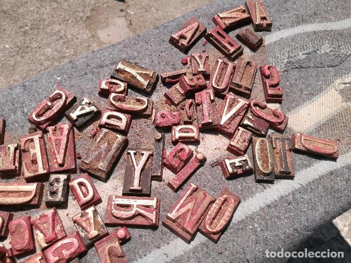 Antigüedades: TROQUELES DE ESTAMPACION ESTAMPAR LOGO CAJAS DE MADERA -2 JUEGOS COMPLETOS -FLIX--TARRAGONA-REF-PEÑ1 - Foto 14 - 88755264