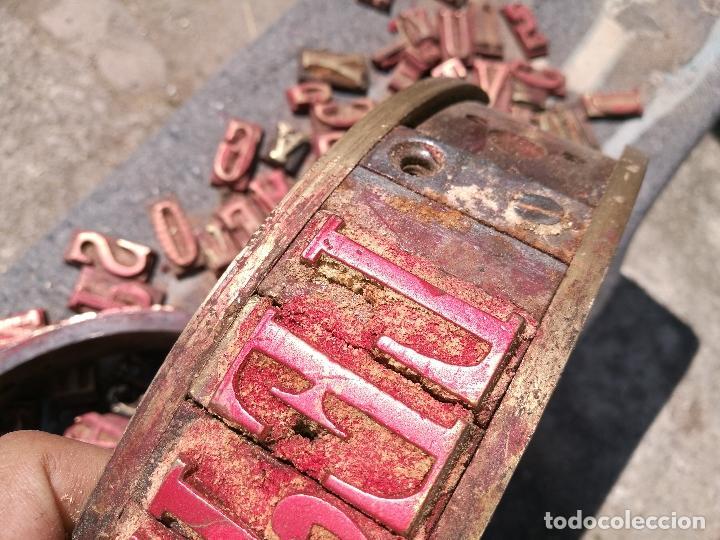 Antigüedades: TROQUELES DE ESTAMPACION ESTAMPAR LOGO CAJAS DE MADERA -2 JUEGOS COMPLETOS -FLIX--TARRAGONA-REF-PEÑ1 - Foto 18 - 88755264