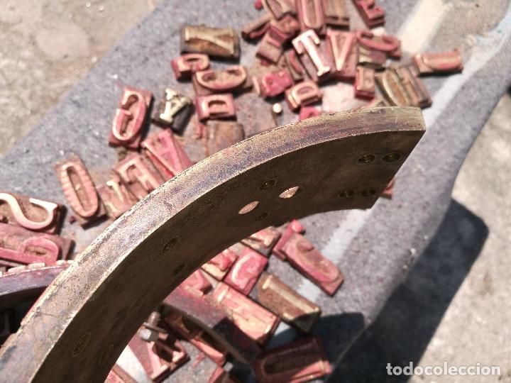Antigüedades: TROQUELES DE ESTAMPACION ESTAMPAR LOGO CAJAS DE MADERA -2 JUEGOS COMPLETOS -FLIX--TARRAGONA-REF-PEÑ1 - Foto 19 - 88755264