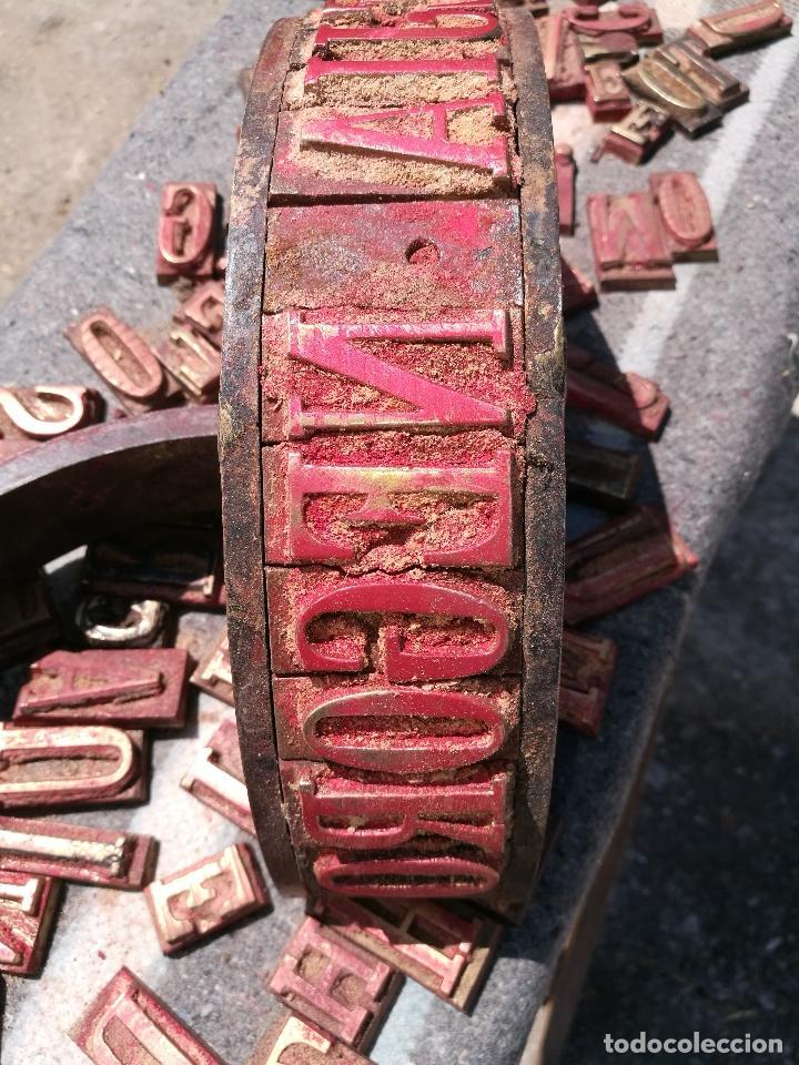 Antigüedades: TROQUELES DE ESTAMPACION ESTAMPAR LOGO CAJAS DE MADERA -2 JUEGOS COMPLETOS -FLIX--TARRAGONA-REF-PEÑ1 - Foto 21 - 88755264