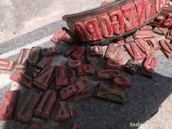 Antigüedades: TROQUELES DE ESTAMPACION ESTAMPAR LOGO CAJAS DE MADERA -2 JUEGOS COMPLETOS -FLIX--TARRAGONA-REF-PEÑ1 - Foto 23 - 88755264