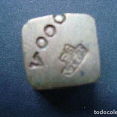 Antigüedades: RARO PONDERAL DE UNA ONZA CUÑO FS--YLLT. Lote 88778192