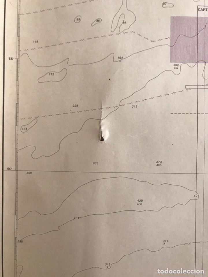 Antigüedades: Carta Naútica Estrecho de Gibraltar Número 105 INT 3150 - Foto 3 - 88860734