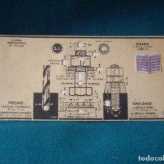 Antigüedades: REGLA CALCULO CARTON AÑO 1935. Lote 88873984