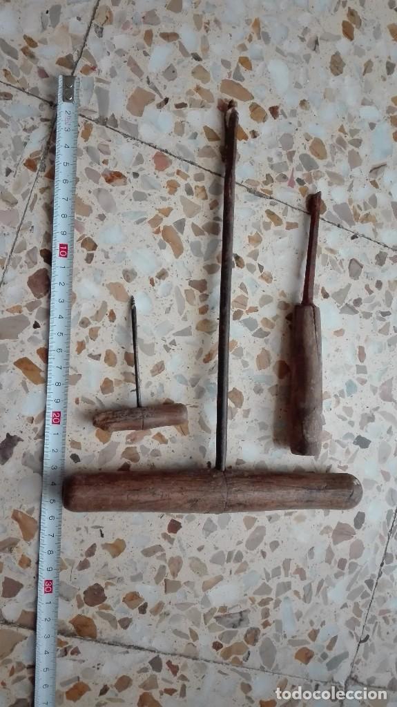 HERRAMIENTAS ANTIGUAS DE CARPINTERIA (Antigüedades - Técnicas - Herramientas Profesionales - Carpintería )
