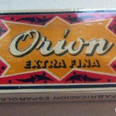 Antigüedades: CUCHILLAS DE AFEITAR. ORION. PAQUETE PRECINTADO DE 10 CUCHILLAS.. Lote 88902356