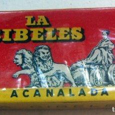 Antigüedades: CUCHILLAS DE AFEITAR. LA CIBELES. PAQUETE PRECINTADO DE 10 CUCHILLAS.. Lote 88902488