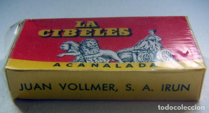 Antigüedades: CUCHILLAS DE AFEITAR. LA CIBELES. PAQUETE PRECINTADO DE 10 CUCHILLAS. - Foto 2 - 88902488