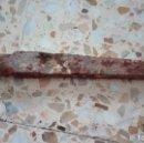 Antigüedades: ANTIGUA PIQUETA DE HIERRO SUJETA VIGAS DE MADERA. Lote 88904220