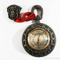 Antigüedades: ANTIGUO BAROMETRO ¿PUBLICIDAD DE KOYPE? PESO 960 GRS 14 CM MUY RARO. Lote 88927936