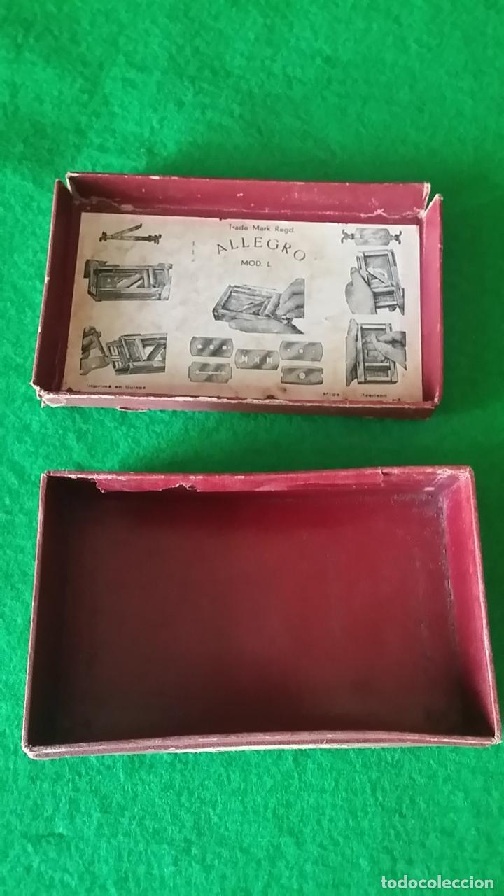 Antigüedades: AFILADOR DE CUCHILLAS ALLEGRO - Foto 11 - 89077056