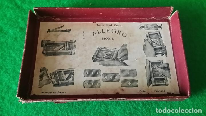 Antigüedades: AFILADOR DE CUCHILLAS ALLEGRO - Foto 12 - 89077056