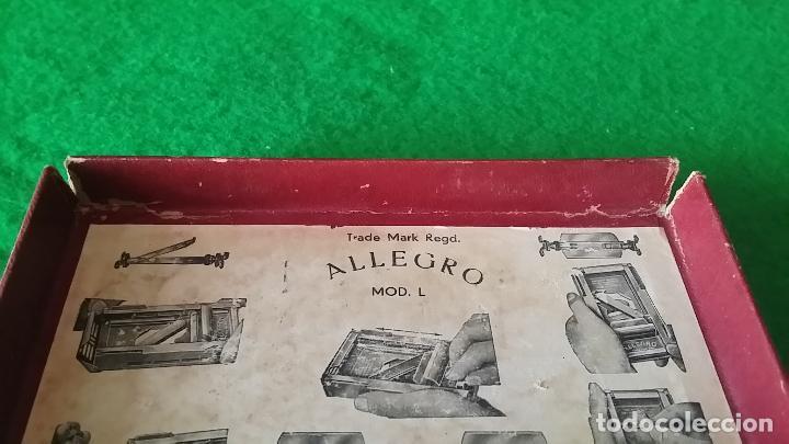 Antigüedades: AFILADOR DE CUCHILLAS ALLEGRO - Foto 13 - 89077056