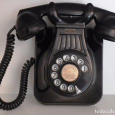 Teléfonos: TELÉFONO BAQUELITA DE PARED. STANDARD ELÉCTRICA ESPAÑOLA. Lote 89083728