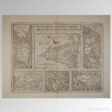 Antigüedades: ISLAS DEL MEDITERRANEO (1579). Lote 54239476