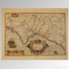 Antigüedades: REINO DE VALENCIA (1612) VALENTIAE REGNI, OLIM CONTESTANORUM SI PTOLEMAEO. Lote 54239432