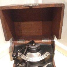 Antigüedades: MAQUINA DE BANCO AMERICANA DE 1888. Lote 89214384