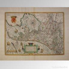 Antigüedades: HOLLANDIAE ANTIQUORUM CATTHORUM SEDIS NOVA DESCRIPTIO . . . HOLANDA (1579). Lote 54239437