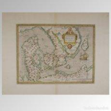 Antigüedades: DINAMARCA (1579). DANIAE REGNI TYPUS. Lote 54239428