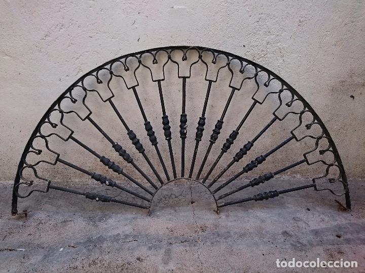 Rejas forja reja hierro forjado oportunidad comprar forja antiguas en todocoleccion 56364167 - Rejas de forja antiguas ...
