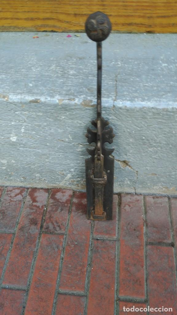 CERROJO FORJA (Antigüedades - Técnicas - Cerrajería y Forja - Cerraduras Antiguas)