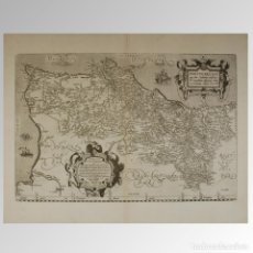 Antigüedades: PORTUGAL (1579) PORTUGALLIAE QUE OLIM LUSITANIA, NOVISSIMA & EXACTISSIMA DESCRIPTIO. Lote 54239465