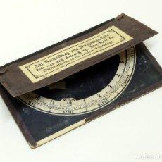 Antigüedades: 1900CA - BUSCADOR LOCALIZADOR DE ESTRELLAS STARFINDER STAR FINDER PLANISFERIO ASTRONÓMICO. Lote 89350744