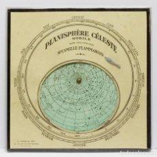 Antigüedades: 1890C - BUSCADOR LOCALIZADOR DE ESTRELLAS STARFINDER STAR FINDER PLANISFERIO ASTRONÓMICO FLAMMARION. Lote 89351188
