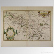 Antigüedades: PICARDIAE BELGICAE REGIONIS DESCRIPTIO.. Lote 54239474