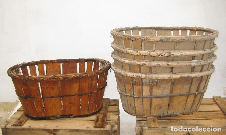 Una unidad cesta caja madera antiguas para rec comprar - Cestos de madera ...