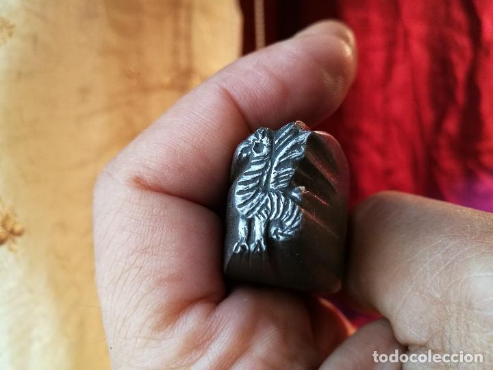 Antigüedades: puntero marcador punzon troquel MARCAJE CUCHILLERO bestiari catalan vilanova i geltru -xix - Foto 21 - 89610392