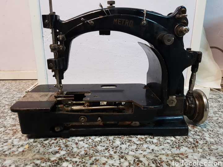 ANTIGUA Y RARA MAQUINA DE COSER INDUSTRIAL MARCA ROWLEY KIESER, MUY RARA (Antigüedades - Técnicas - Máquinas de Coser Antiguas - Otras)