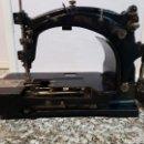Antigüedades: ANTIGUA Y RARA MAQUINA DE COSER INDUSTRIAL MARCA ROWLEY KIESER, MUY RARA. Lote 89764016
