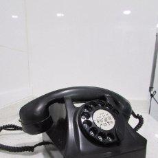 Teléfonos: ANTIGUO Y ORIGINAL TELEFONO DE SOBREMESA DE BAKELITA, AÑOS 50. Lote 89822872