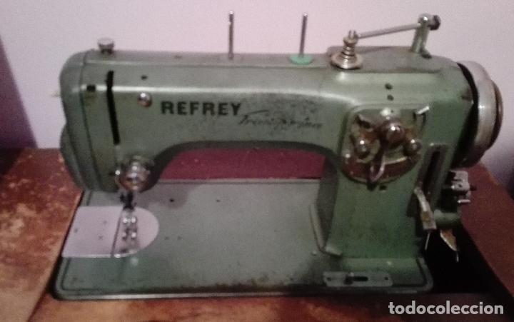 MÁQUINA DE COSER REFREY (Antigüedades - Técnicas - Máquinas de Coser Antiguas - Refrey)