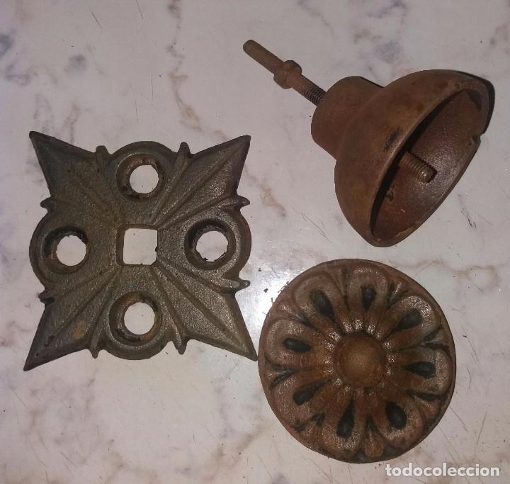 Antigüedades: Pomo tirador para puerta - Foto 3 - 90070188