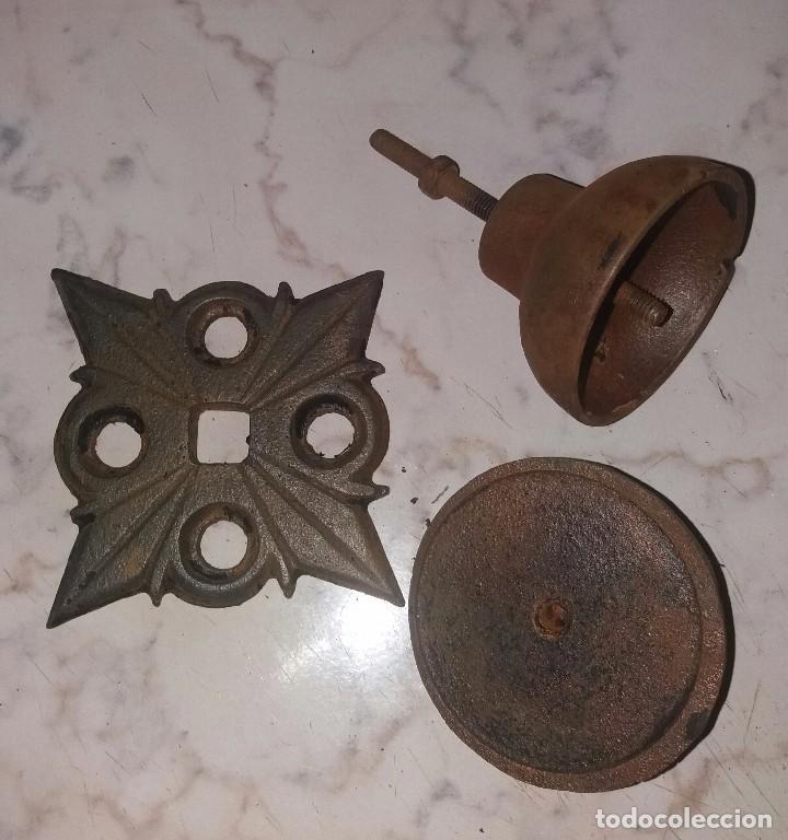 Antigüedades: Pomo tirador para puerta - Foto 4 - 90070188