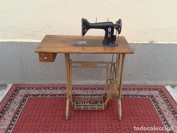 Mueble antiguo maquina de coser antigua sigma comprar m quinas de coser antiguas sigma en - Mueble maquina de coser ...