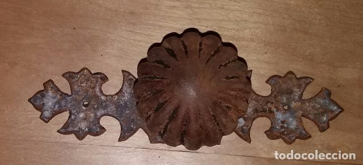 POMO TIRADOR (Antigüedades - Técnicas - Cerrajería y Forja - Tiradores Antiguos)