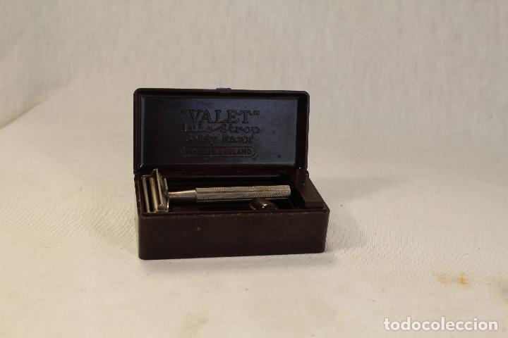 Antigüedades: maquinilla de afeitar valet - Foto 2 - 90497540