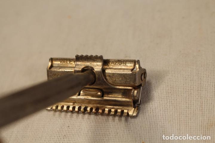 Antigüedades: maquinilla de afeitar valet - Foto 4 - 90497540