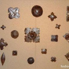 Antigüedades: LOTE DE 20 CLAVOS SIGLOS XVII Y XVIII , CLAVO HIERRO FORJA FORJADO. Lote 98785627
