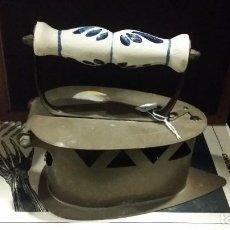 Antigüedades: PLANCHA DE METAL. Lote 90714705