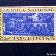 Antigüedades: HOJA DE AFEITAR ANTIGUA-FABRICA NACIONAL DE TOLEDO-VINTAGE. Lote 71951815