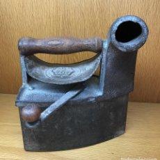 Antigüedades: ANTIGUA PLANCHA DE CARBÓN - LYNG - LA ESPERANZA. Lote 90903005