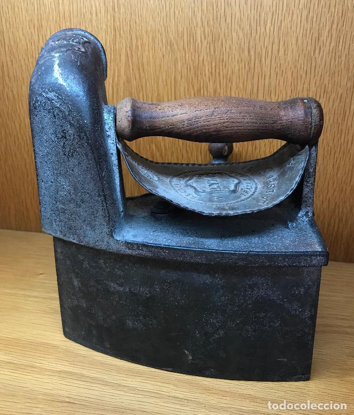 Antigüedades: Antigua plancha de carbón - Lyng - La Esperanza - Foto 2 - 90903005