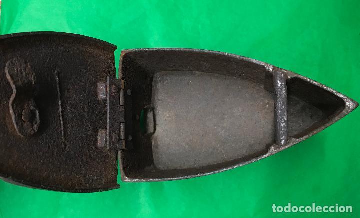 Antigüedades: Antigua plancha de carbón - Lyng - La Esperanza - Foto 6 - 90903005