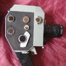 Antigüedades: CAMARA TOMAVISTAS SUPER 8 QUARZ ZOOM DS8-3 MADE IN URSS. Lote 90937265