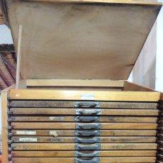 Mueble de imprenta