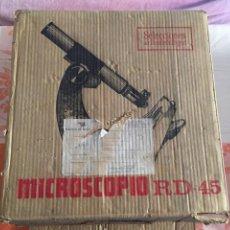 Antigüedades: MICROSCOPIO RD 45 ENOSA READERS. Lote 91032433